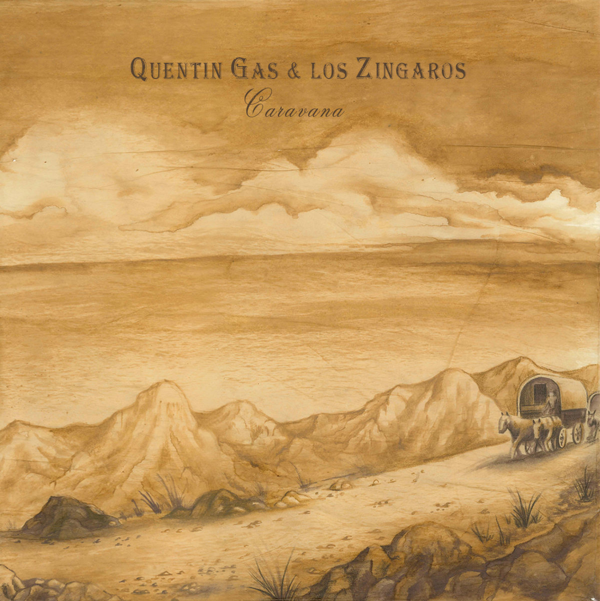 """""""Caravana"""", Quentin Gas & LosZíngaros"""